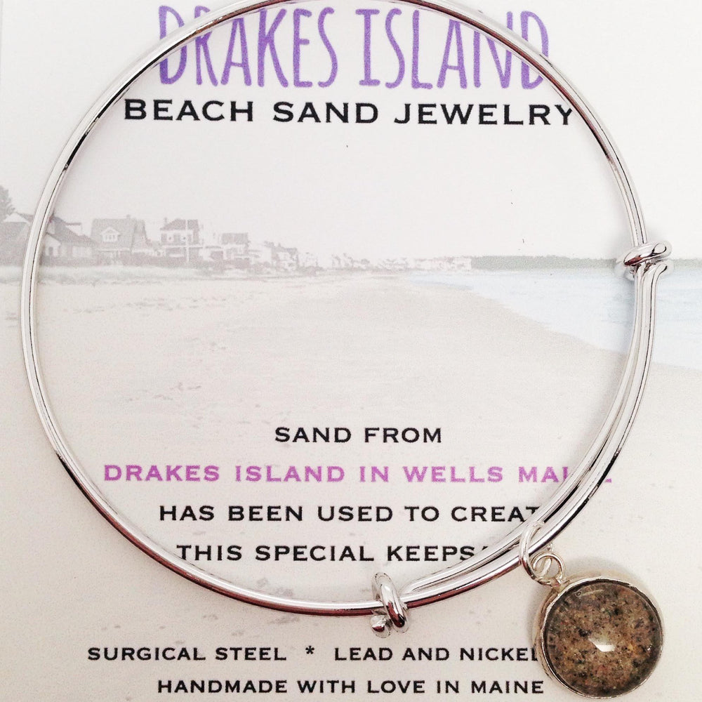 Drakes Island Beach Maine Sand Jewelry