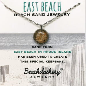 Load image into Gallery viewer, East Beach Rhode Island Sand Jewelry Beachdashery