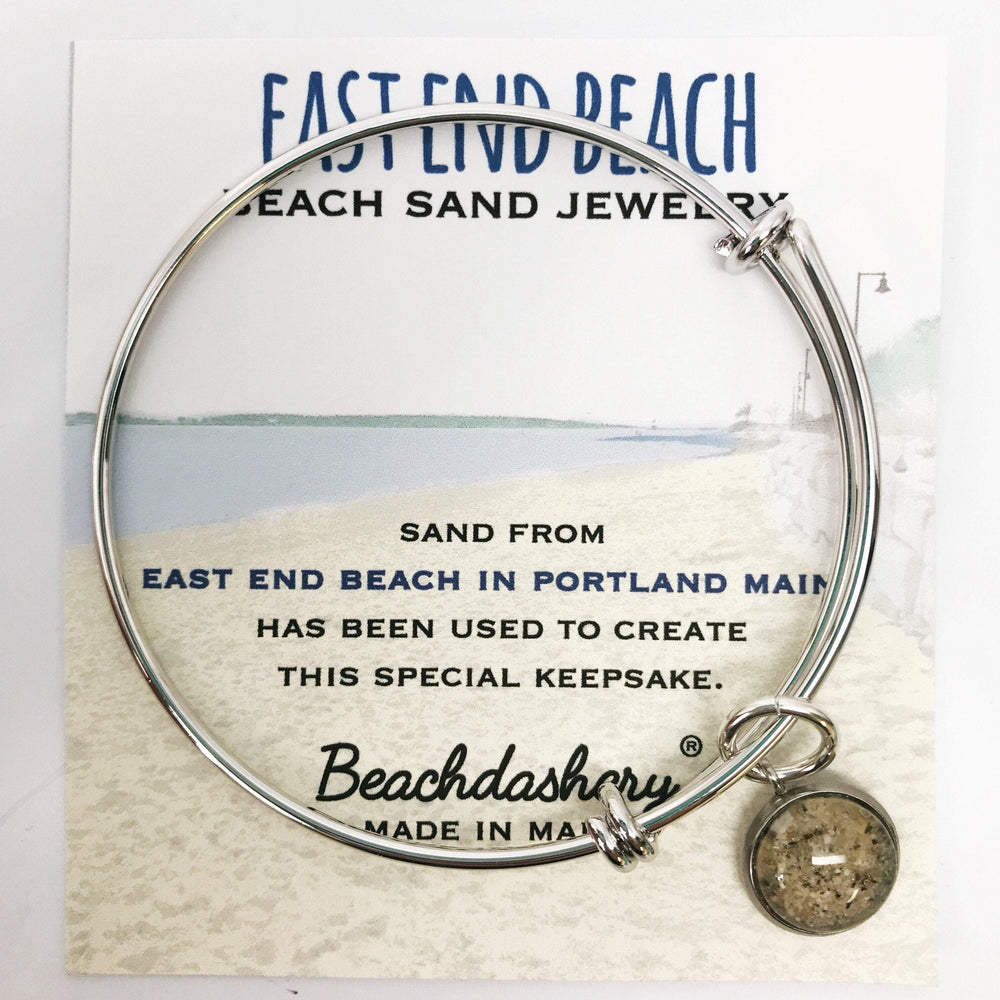East End Beach Maine Sand Jewelry