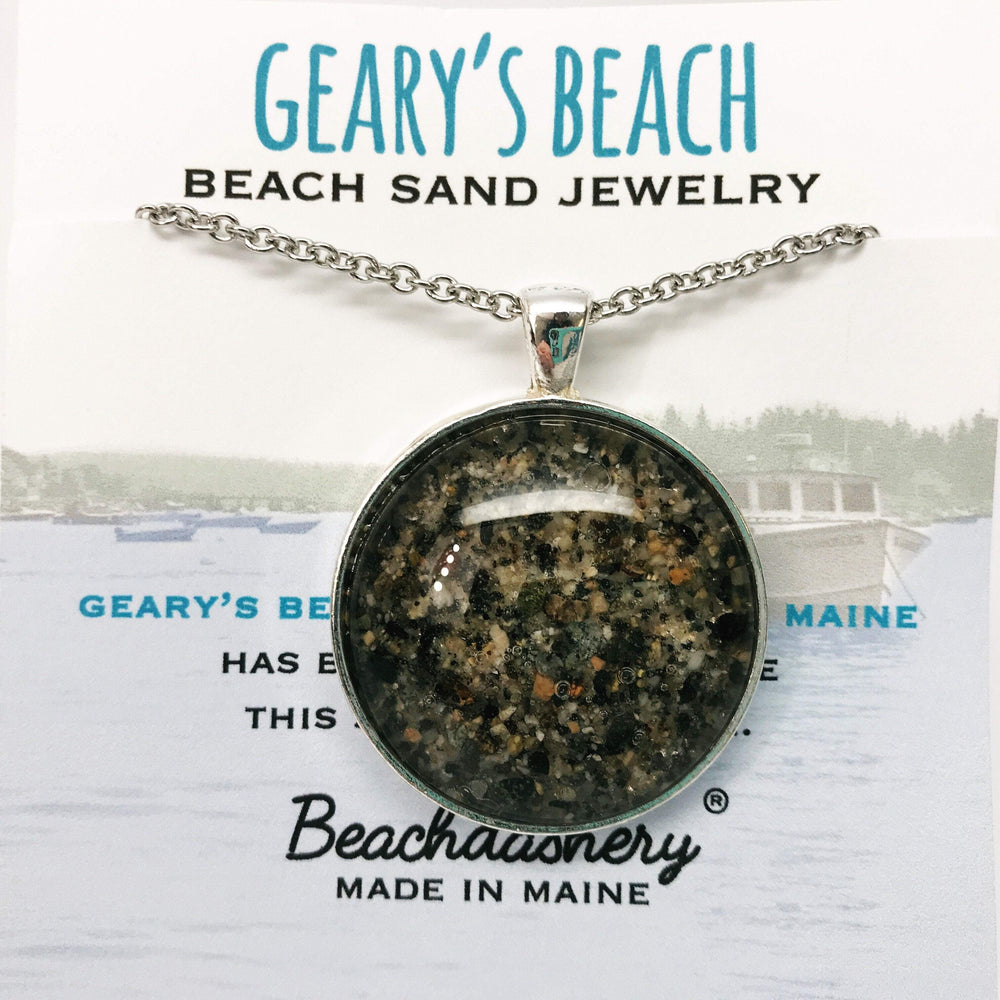 Geary's Beach Maine Sand Jewelry
