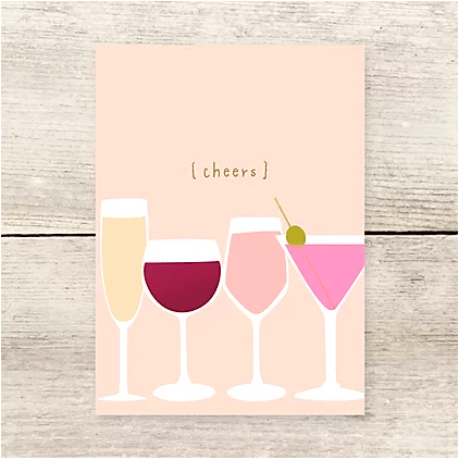 Haven Paperie Cheers Drinks Card Beachdashery® Jewelry