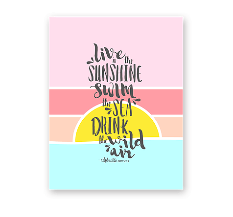 Haven Paperie Sunrise Sunset Card