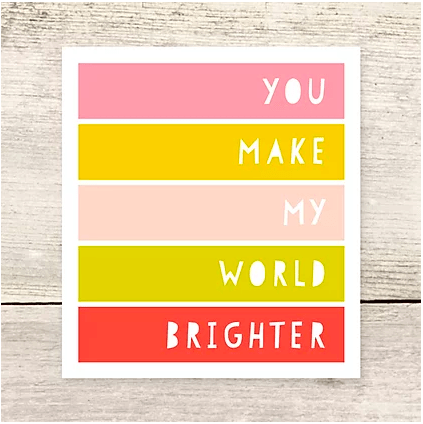 Haven Paperie World Brighter Card Beachdashery® Jewelry