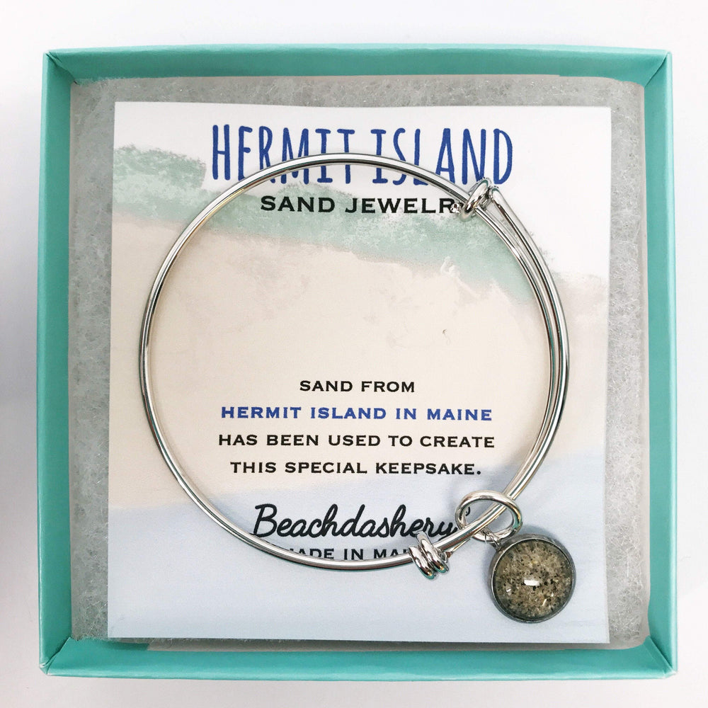 Hermit Island Beach Maine Sand Jewelry