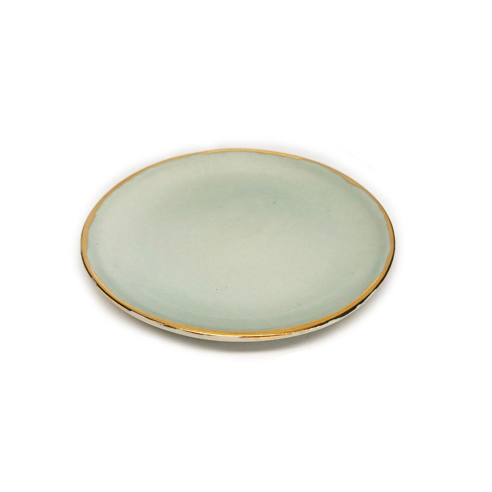Load image into Gallery viewer, Jewelry Dish in Mint Beachdashery® Jewelry