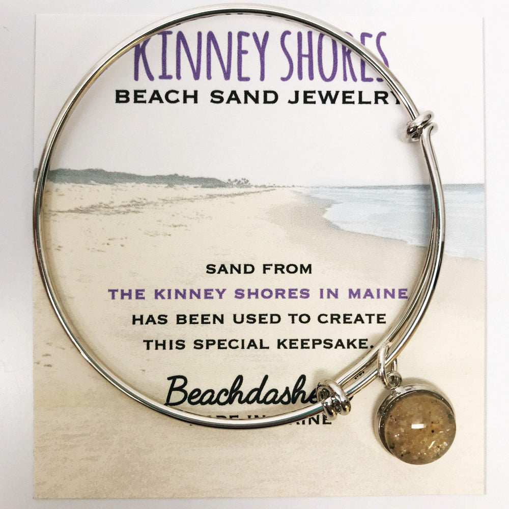 Kinney Shores Beach Maine Sand Jewelry