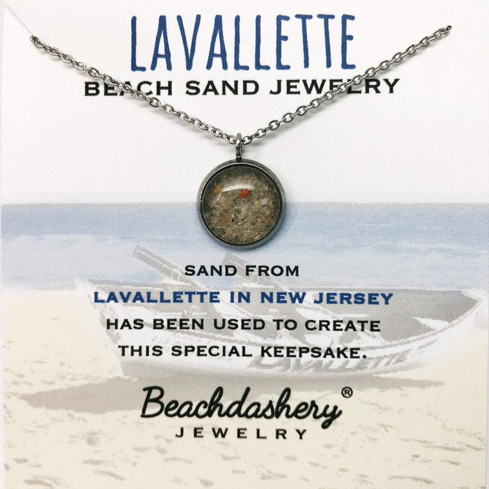Lavallette Beach New Jersey Sand Jewelry Beachdashery
