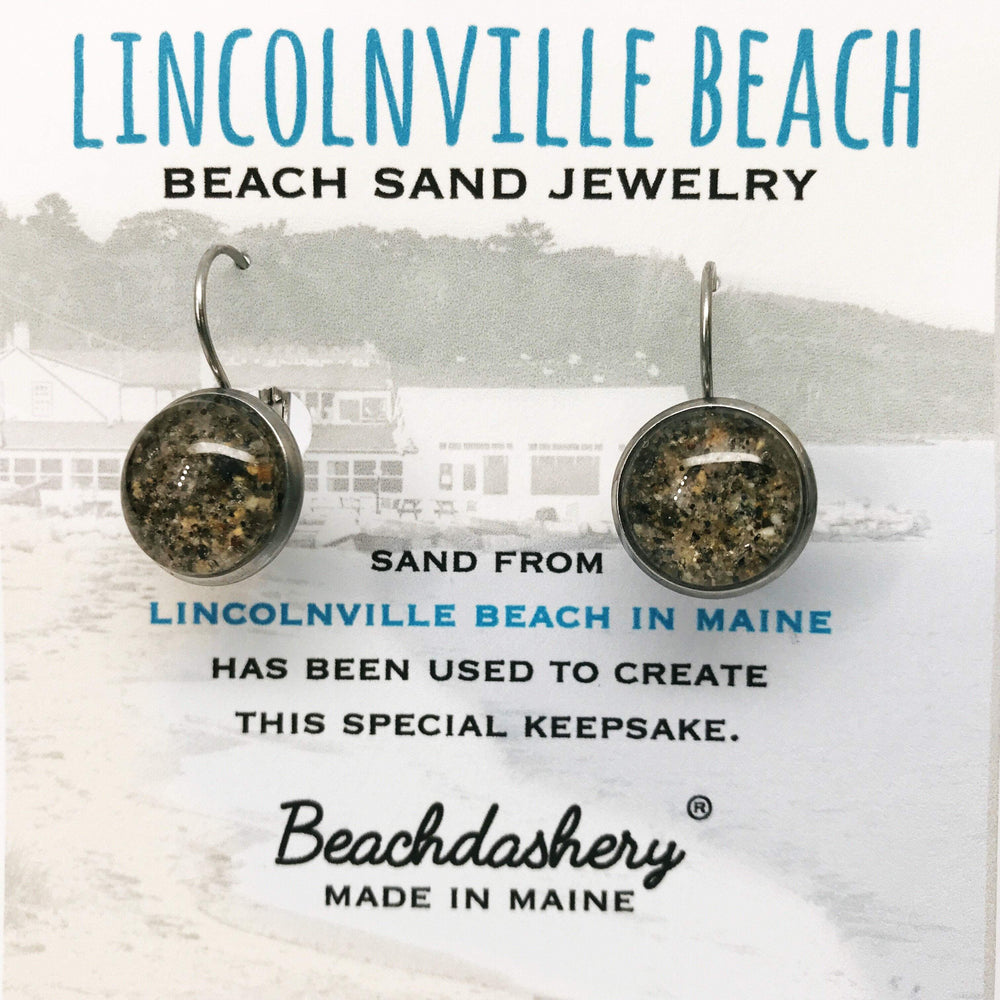 Lincolnville Beach Maine Sand Jewelry