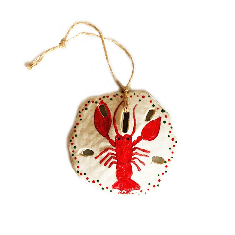 Lobster Sand Dollar Ornament Beachdashery Jewelry