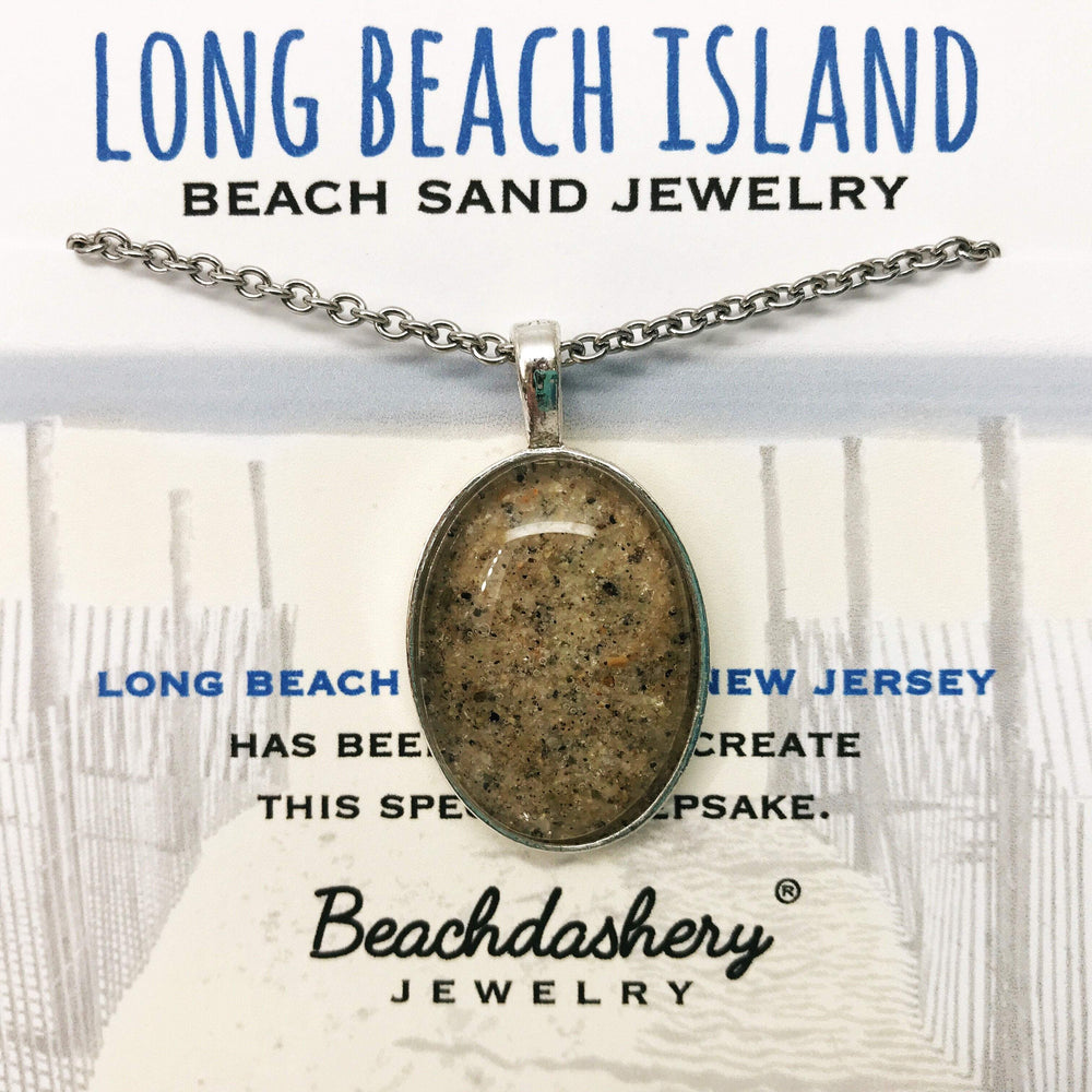 Load image into Gallery viewer, Long Beach Island New Jersey Sand Jewelry Beachdashery