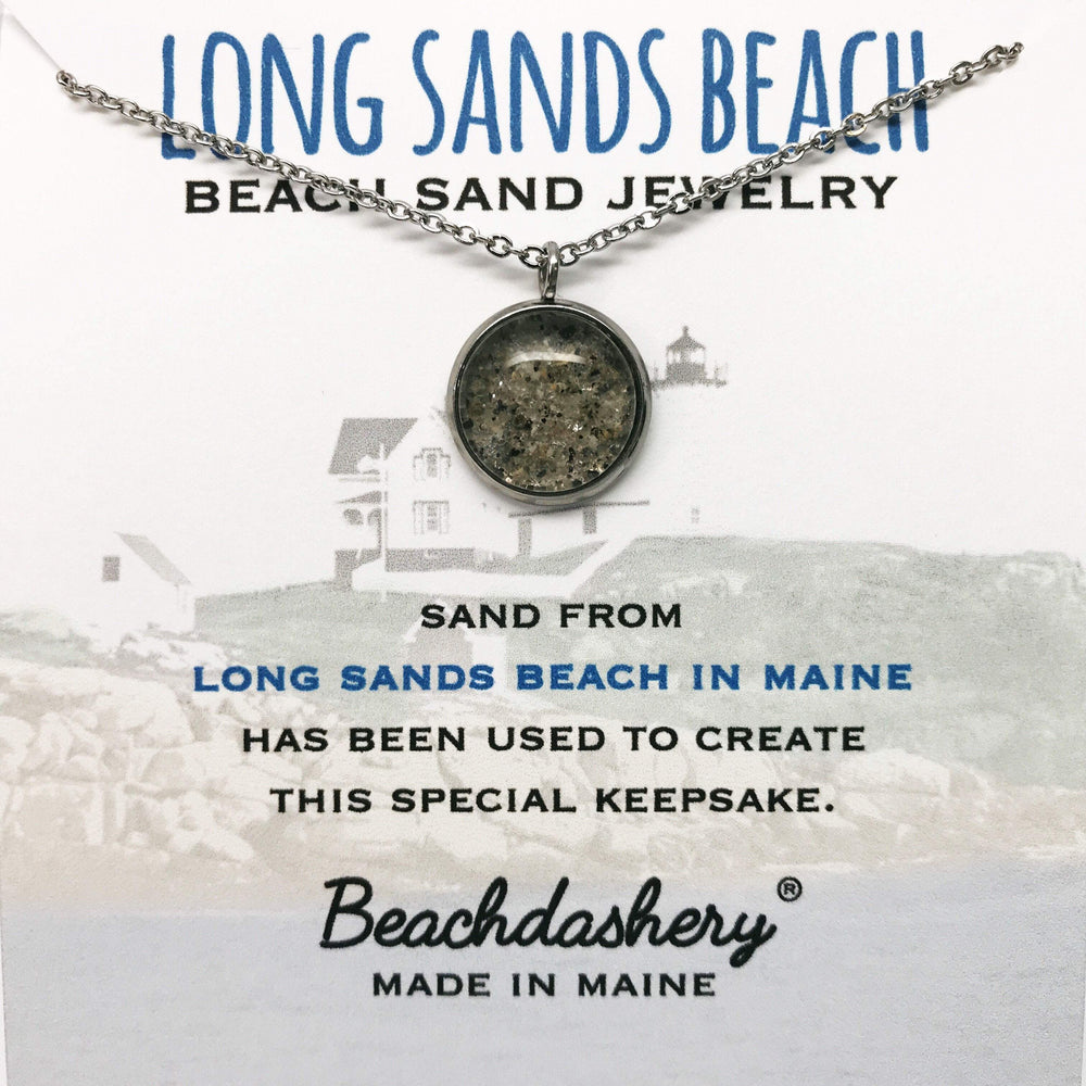 Long Sands Beach Maine Sand Jewelry