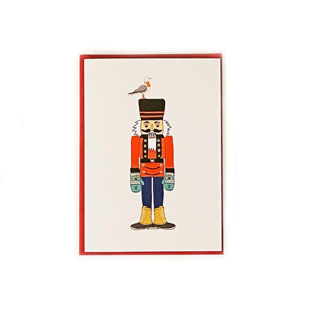 Maine Holiday Nutcracker Card Beachdashery Jewelry