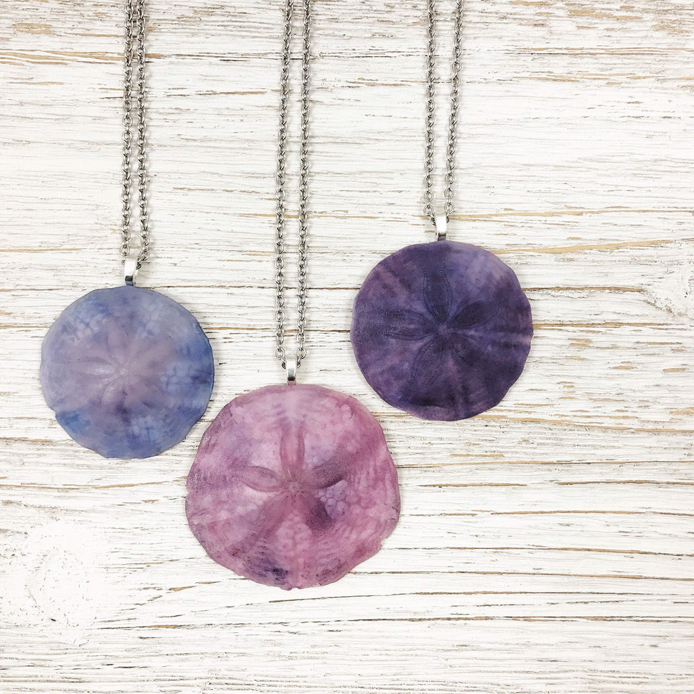 Maine Sand Dollar Necklace Beachdashery® Jewelry