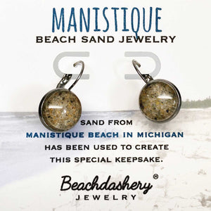 Manistique Beach Michigan Sand Jewelry Beachdashery