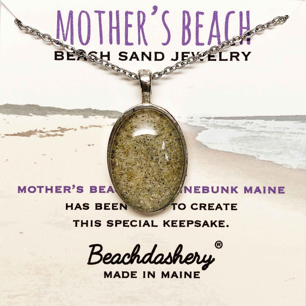 Mother's Beach Maine Sand Jewelry