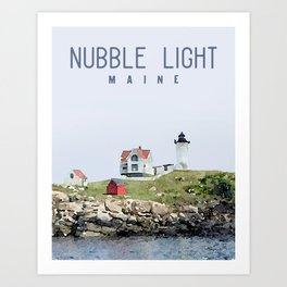 Nubble Light Maine Print Beachdashery Jewelry