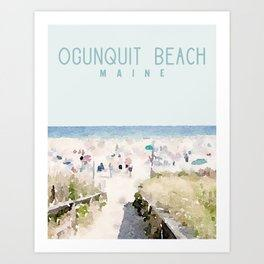 Ogunquit Beach Maine Print Beachdashery Jewelry