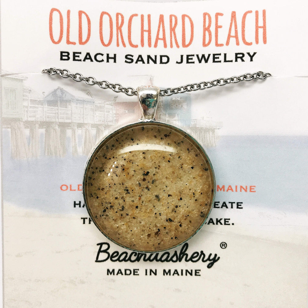 Old Orchard Beach Maine Sand Jewelry