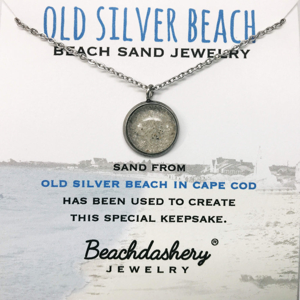 Old Silver Beach Sand Jewelry