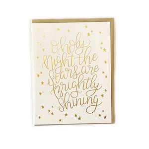 Parrott Design Holy Night Card Beachdashery Jewelry