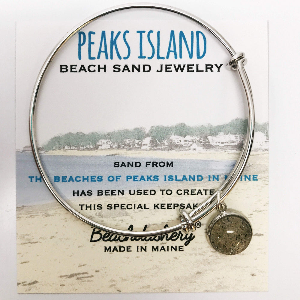 Peaks Island Beach Maine Sand Jewelry