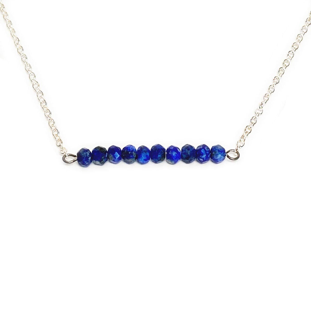 Sapphire Gemstone Bar Necklace Beachdashery® Jewelry