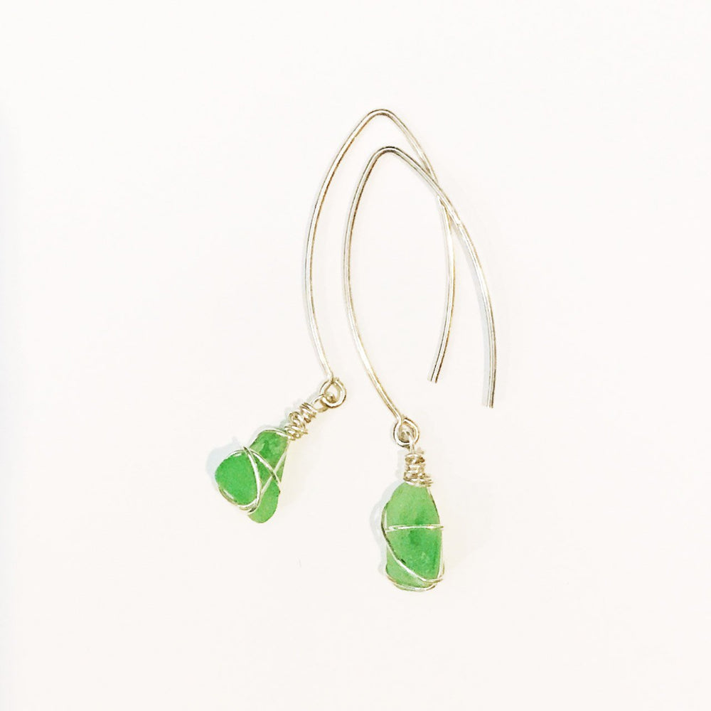 Sea Charms Maine Seaglass Earrings Limited Edition 1005 Beachdashery® Jewelry