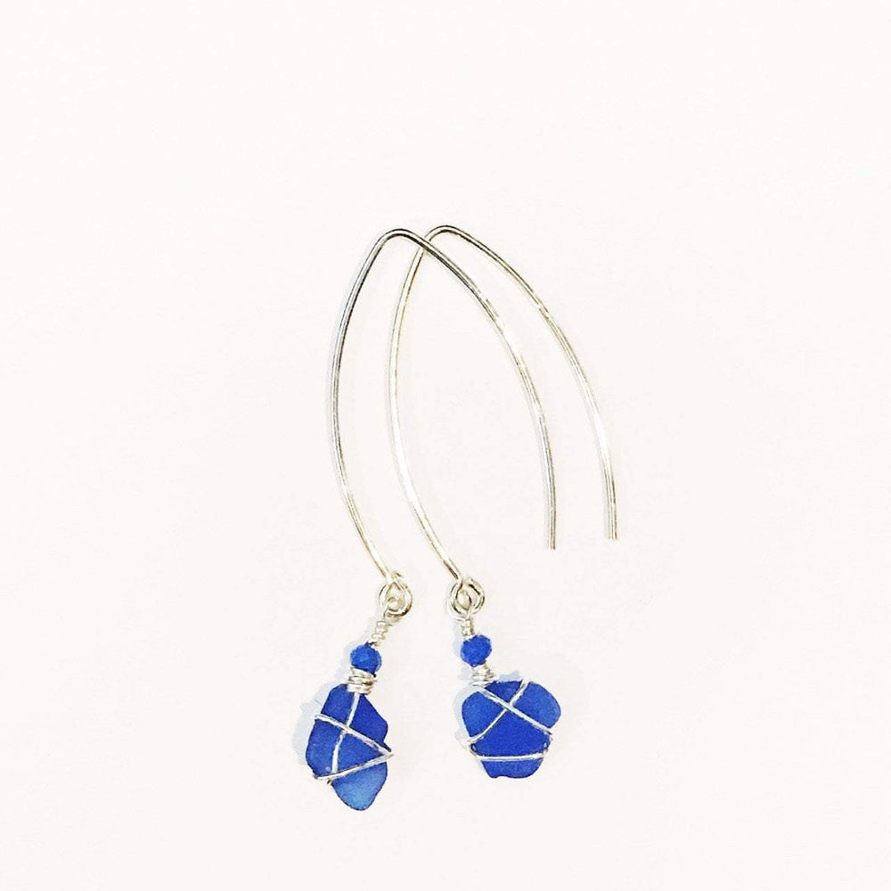 Sea Charms Maine Seaglass Earrings Limited Edition 1008 Beachdashery® Jewelry