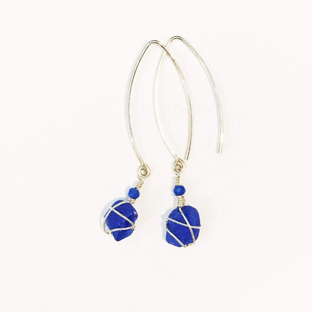 Sea Charms Maine Seaglass Earrings Limited Edition 1011 Beachdashery® Jewelry