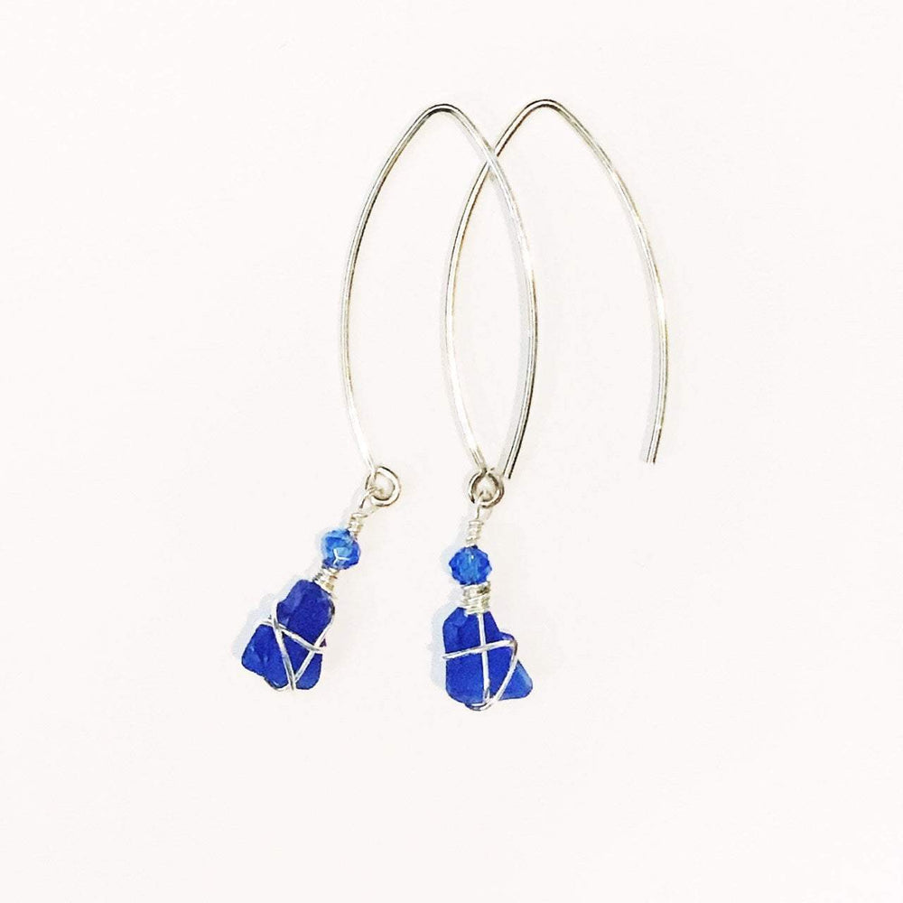 Sea Charms Maine Seaglass Earrings Limited Edition 1012 Beachdashery® Jewelry