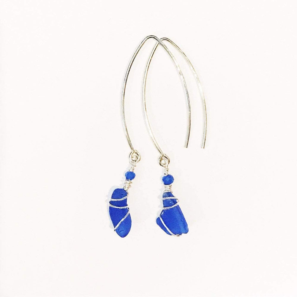 Sea Charms Maine Seaglass Earrings Limited Edition 1013 Beachdashery® Jewelry