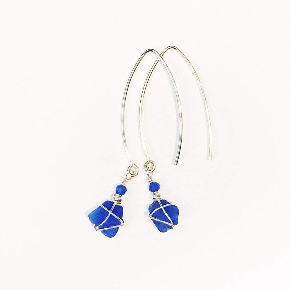 Sea Charms Maine Seaglass Earrings Limited Edition 1015 Beachdashery® Jewelry