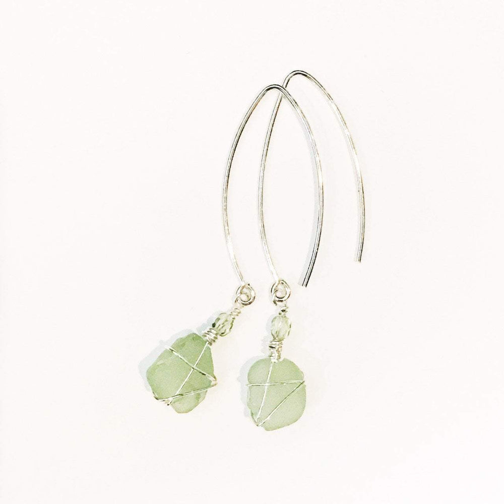 Sea Charms Maine Seaglass Earrings Limited Edition 1017 Beachdashery® Jewelry