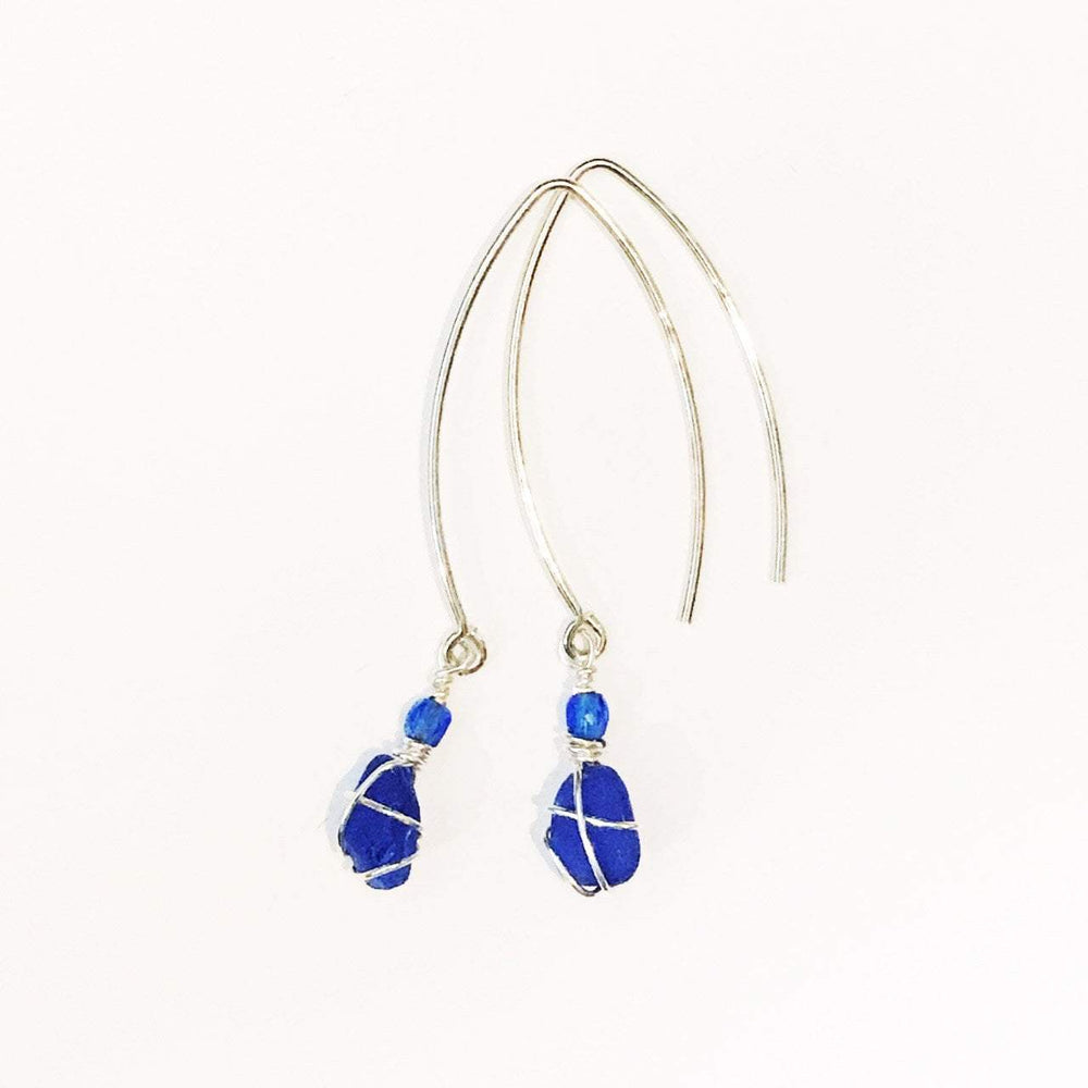 Sea Charms Maine Seaglass Earrings Limited Edition 1018 Beachdashery® Jewelry