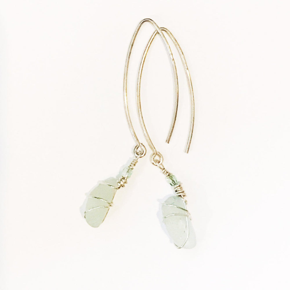 Sea Charms Maine Seaglass Earrings Limited Edition 1020 Beachdashery® Jewelry
