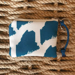 Sea Crow Co. Coin Purse in Maine Blue Beachdashery® Jewelry