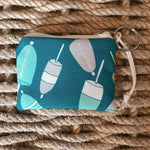 Sea Crow Co. Coin Purse in Teal Buoy Beachdashery® Jewelry