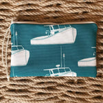Sea Crow Co. Wristlet in Teal Lobster Boat Beachdashery® Jewelry