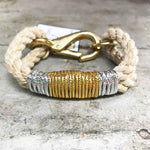 Sea Ropes Maine Shiny Vintage Bracelet Beachdashery® Jewelry