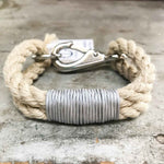 Sea Ropes Maine Vintage Silver Bracelet Beachdashery® Jewelry