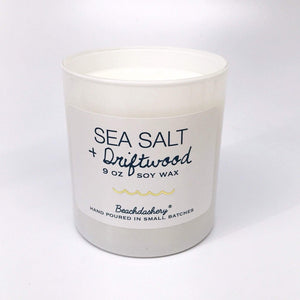 Sea Salt and Driftwood Soy Candle Beachdashery® Jewelry