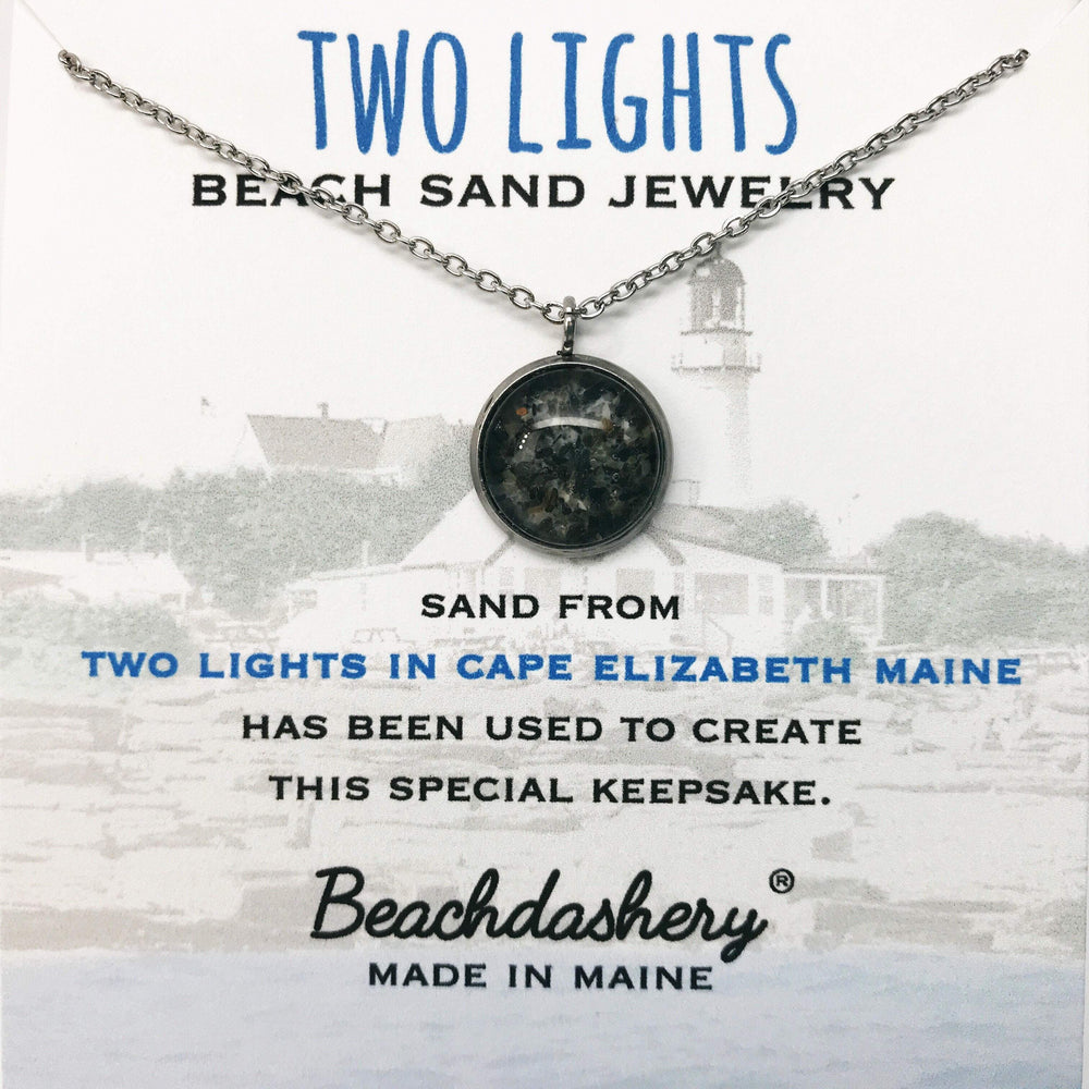 Two Lights Beach Maine Sand Jewelry Beachdashery