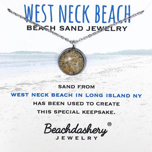 Load image into Gallery viewer, West Neck Beach New York Sand Jewelry Beachdashery