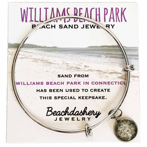 Williams Beach Park Connecticut Sand Jewelry Beachdashery® Jewelry
