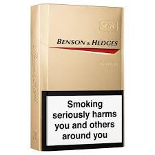 Benson and Hedges Gold 20 Box Delivery - Alcohol Delivery