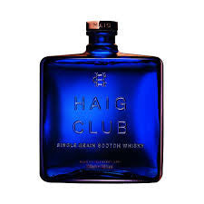 Haig Club Single Malt Whisky Delivery - 70cl - Alcohol Delivery