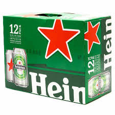 Heineken Beer Delivery - X12 Pack - Alcohol Delivery