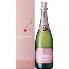 Lanson Rose Champagne Delivery - 75cl - Alcohol Delivery