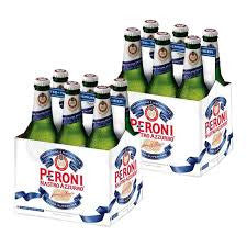 Peroni Nastro Azzurro Beer Delivery - X12 Pack - Alcohol Delivery