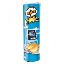 Pringles Salt & Vinegar Savoury Snacks Delivery - Alcohol Delivery